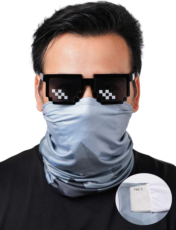 Unisex UV Protection Neck Gaiter Face Masks, Outdoor Fishing Cooling Balaclava