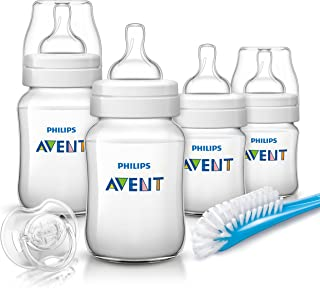 Philips Avent Pp Classic Plus Newborn Starter Set, White - SCD 371/60 506286