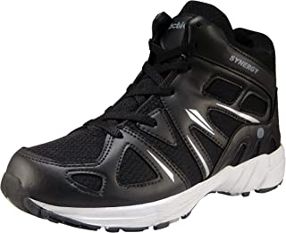 Action Synergy Men's High Neck Sports Running Shoes SRH7236 BlackSilver