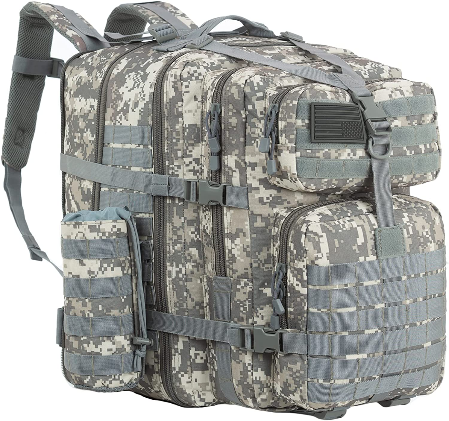 GZ XINXING 64L Large 3 day Molle Assault Pack Military Tactical Army Backpack Bug Out Bag Rucksack Daypack