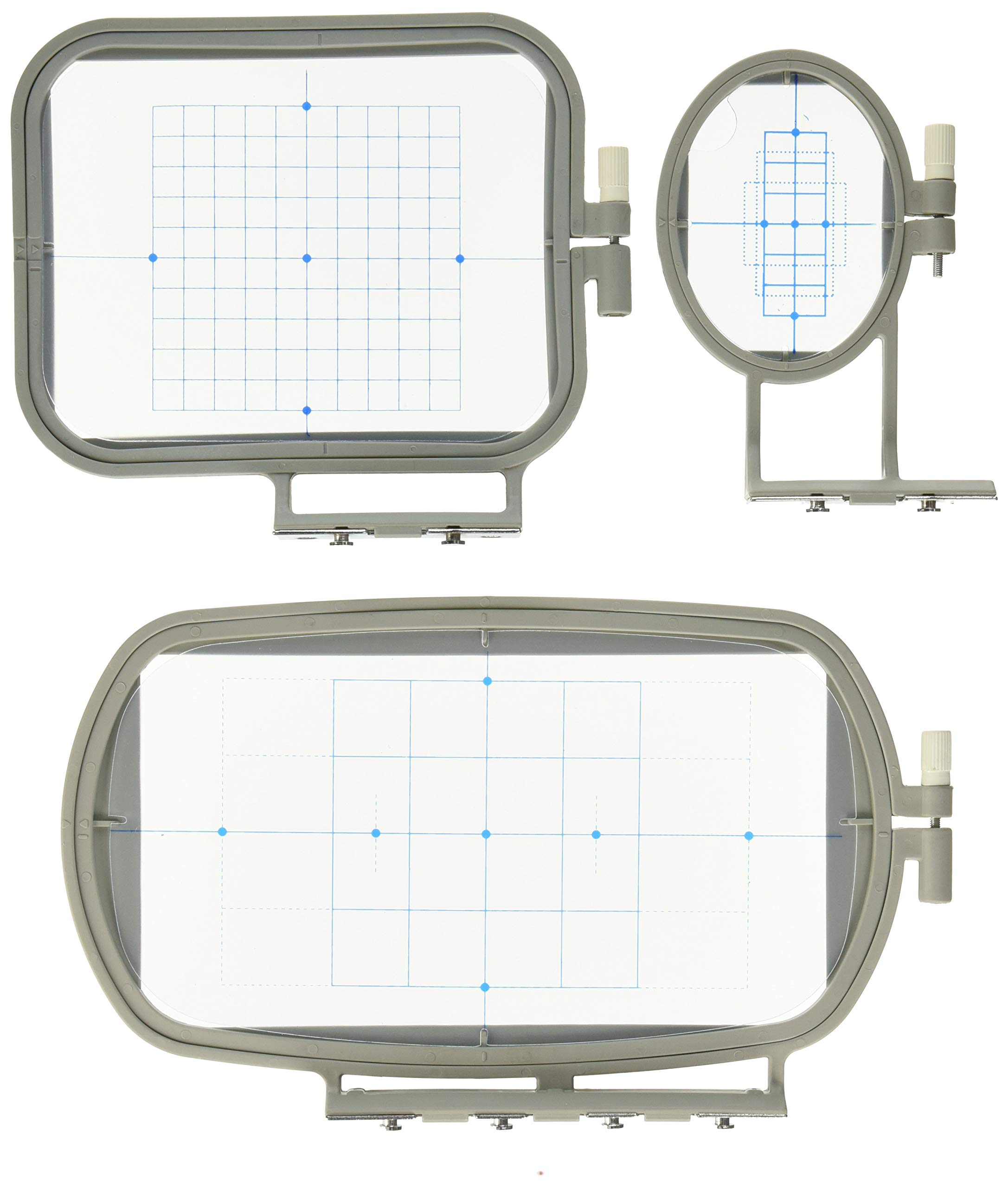 3 Piece Embroidery Hoop Brother Machines