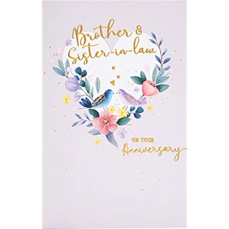 Wedding Anniversary Card. Happy Anniversary