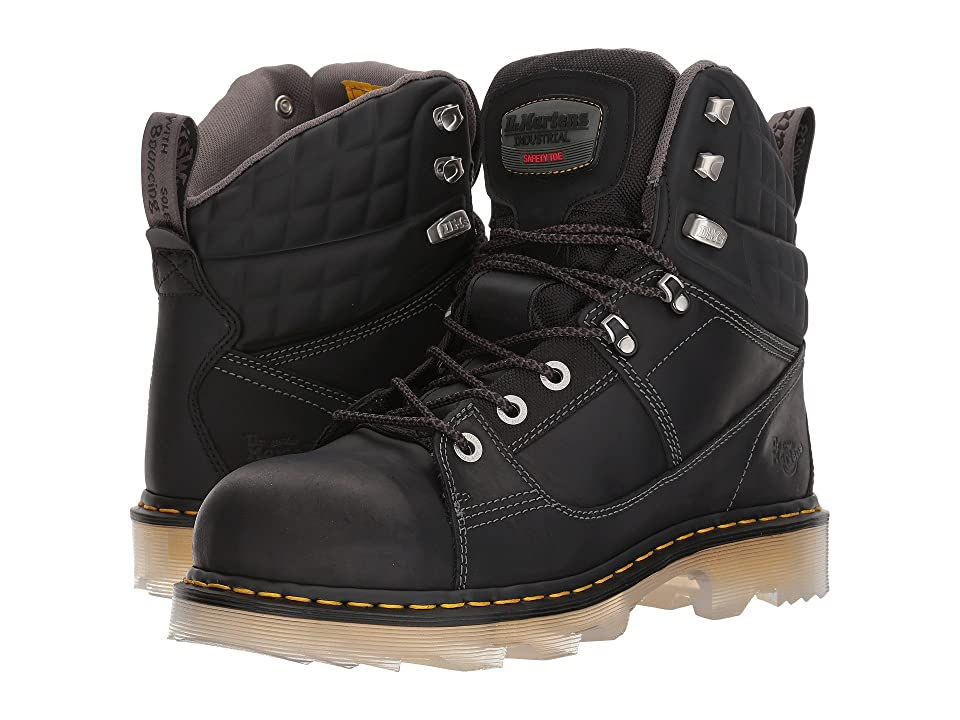 Dr. Martens Camber Alloy Toe (Black Connection/Black Soft Rubbery) Boots