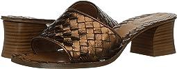 Intrecciato Heeled Sandal