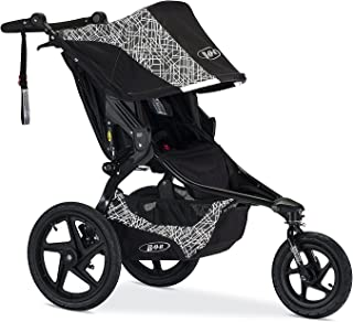 BOB Revolution Flex 2.0 Jogging Stroller - Up to 75 pounds - UPF 50+ Canopy - Adjustable Handlebar, Lunar