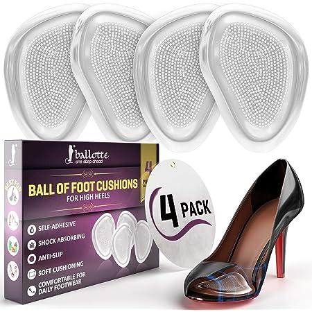 1 Pair Women High Heel Forefoot Insert Pad Toe Filler MAGIC F3G2