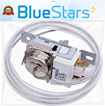 Ultra Durable 2198202 Refrigerator Cold Control Thermostat Replacement by Blue Stars - Exact Fit for Whirlpool & Kenmore Refrigerators - Replaces 2161284 2198201