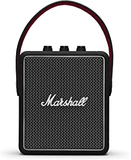 Marshall Stockwell II Bocina Bluetooth, color Negro
