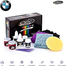Color N Drive Black - 668 Touch Up Paint Kit Compatible with All BMW Models for Paint Scratch and Chips Repair - OEM Quality, Exact Color Match - Basic Pack