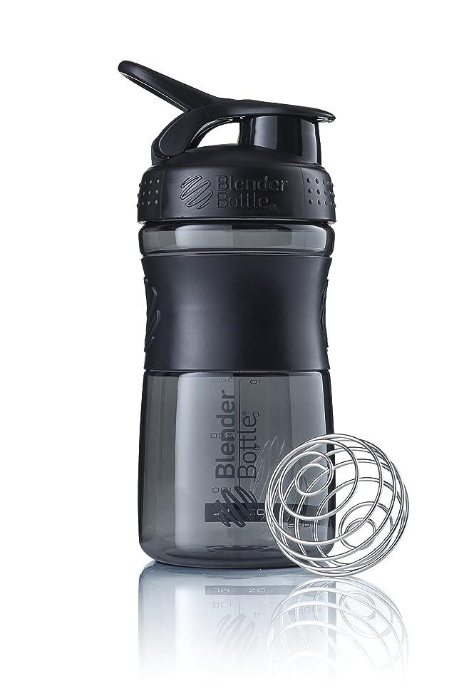 ミサイルハプニング空いているブレンダーボトル 【日本正規品】 ミキサー シェーカー ボトル Sports Mixer 20オンス (600ml) ブラック BBSME20 BKBK