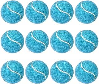 Puppy Tennis Balls, 12 Pack KOOMOX 2.5'' Tennis Balls, Blue Colored Dog Toy Tennis Balls Bouncy Fits Launcher Thrower Shoo...