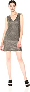 French Connection Women's Leah Metallic Jersey Dress