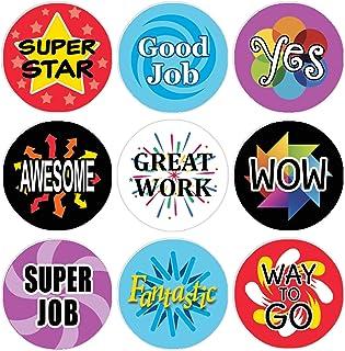 Teacher Reward Motivational Stickers for Children (Set of 1,080)