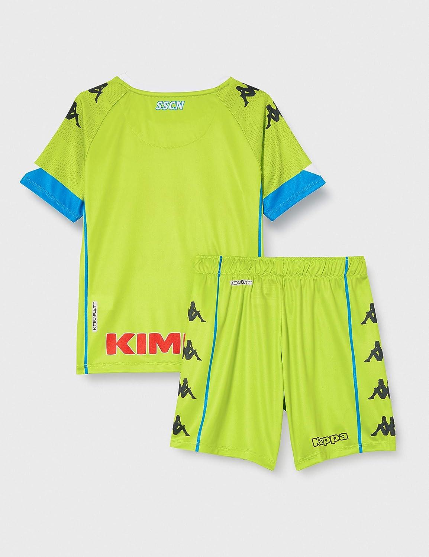 SSC NAPOLI Children/'s 2020//21 Goalkeeper/'s Away Match Kit