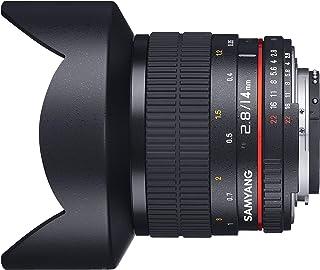 【Amazon.co.jp限定】 SAMYANG 単焦点広角レンズ 14mm F2.8 ソニーαA用 フルサイズ対応 クリーニングクロスセット