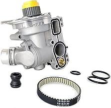 All Aluminum Water Pump + Sensor + Belt for Audi A3 A4 Q5 VW Jetta GTI Passat CC Tiguan 2.0T TSI