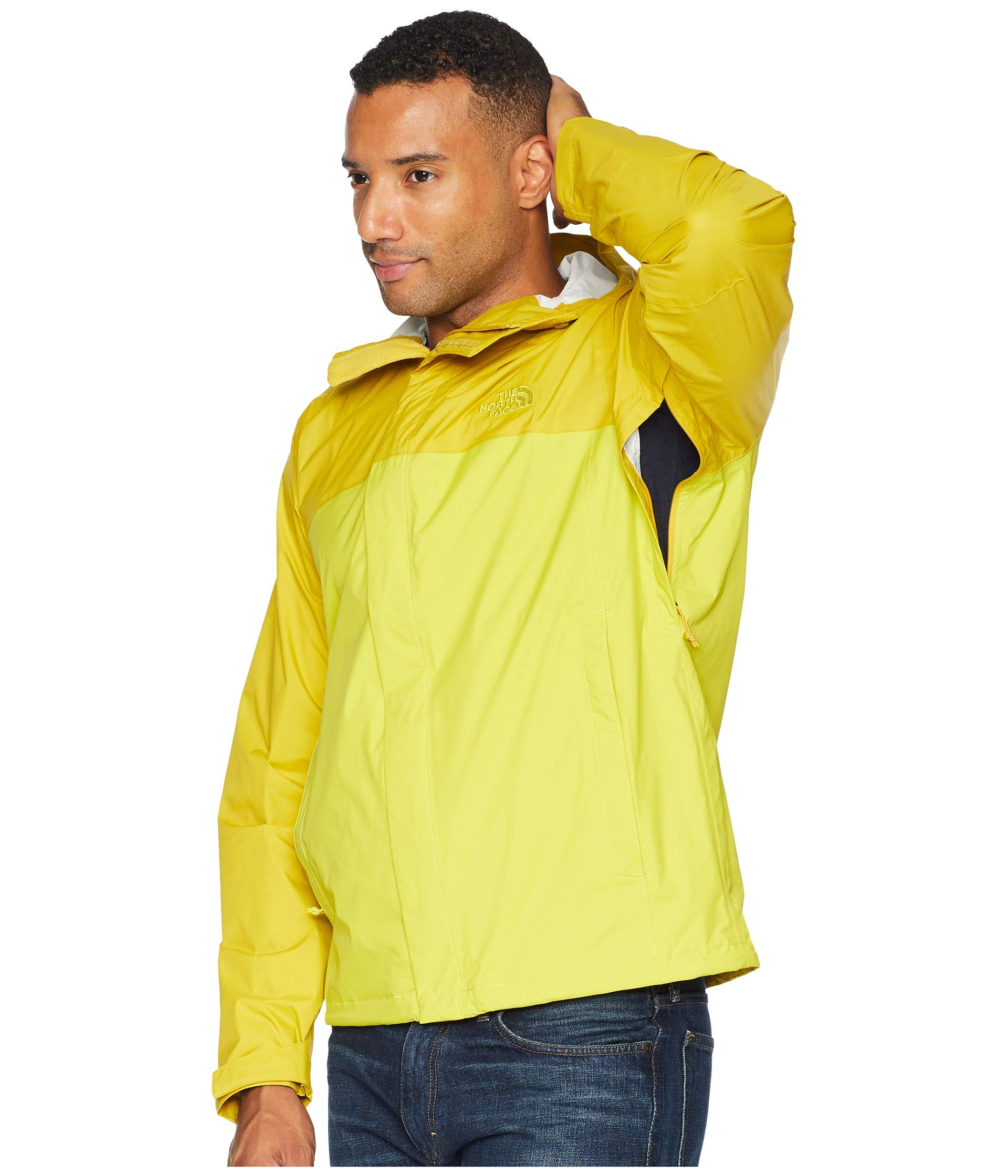 North Face The Venture Jacket Yellow 2 leopard Yellow Acid d5waqSw