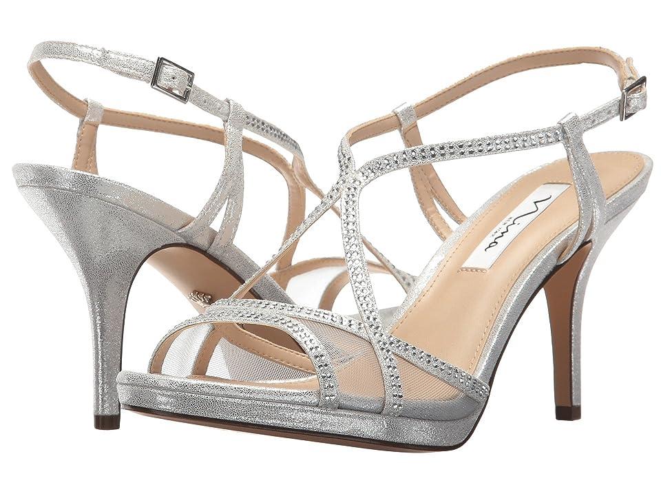 Nina Blossom (Silver Stardust/Silver Skylight/Mesh) High Heels