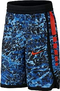 Nike Boy's Dri-FIT Elite Printed Basketball Shorts