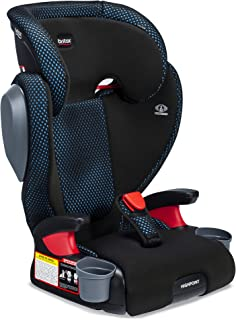 Britax Highpoint Belt-Positioning Booster Seat - 40 to 120 pounds - 3 Layer Impact Protection, Cool Flow Ventilated Fabric, Teal