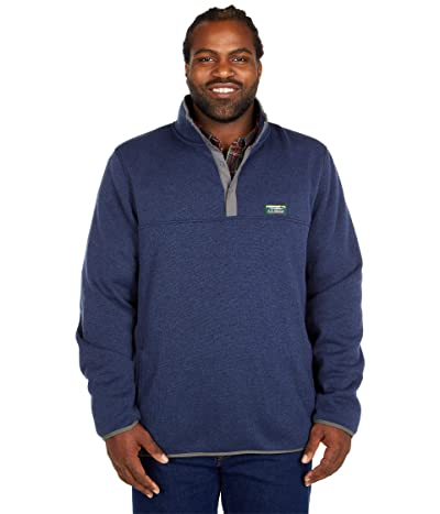 L.L.Bean Sweater Fleece Pullover Tall (Bright Navy) Men