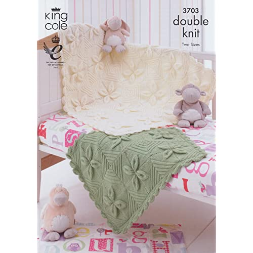 7c6865d32d96 Knitting Patterns for Baby Blankets  Amazon.co.uk