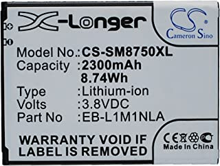 High Capacity 2300mAh / 8.74Wh Replacement Battery for Samsung ATIV S, ATIV S 16GB, ATIV S 32GB, GT-I8370, GT-I8750, GT-I8...