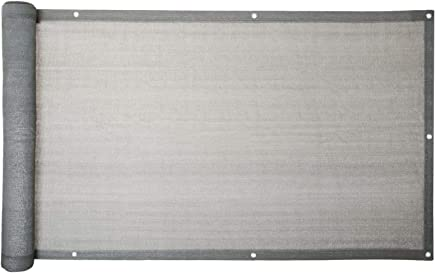 ESTEXO Balkon Sichtschutz Balkonbespannung Balkonsichtschutz Balkonverkleidung 090 M X 600