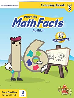 Meet the Math Facts Level 3 - Coloring Book