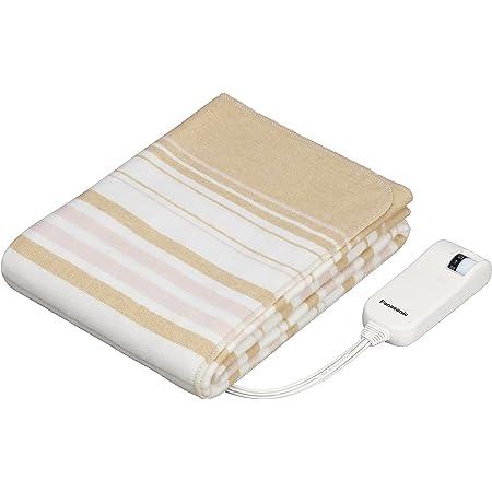 パナソニック 電気しき毛布 シングル 140×80cm 丸洗い可 室温センサー付 ベージュ DB-U12T-C