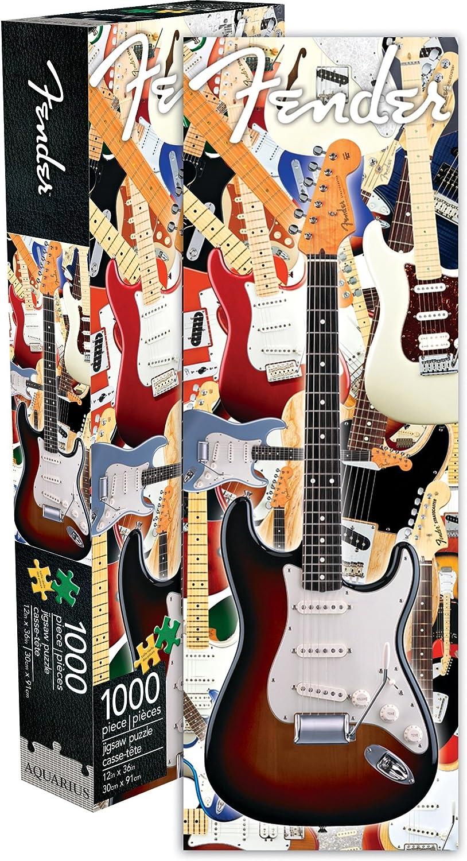 Aquarius Fender Stratocaster 1000 Pc Slim Jigsaw Puzzle