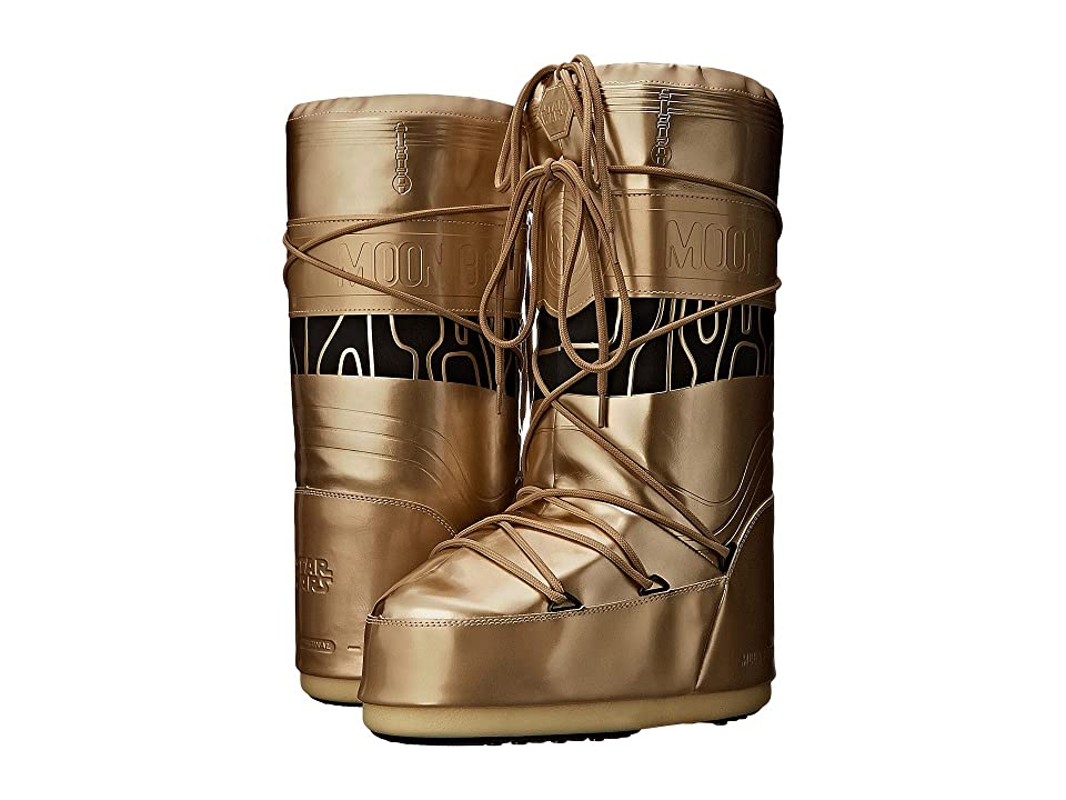 Tecnica Moon Boot(r) Star Wars(r) C-3PO (Gold/Black) Work Boots