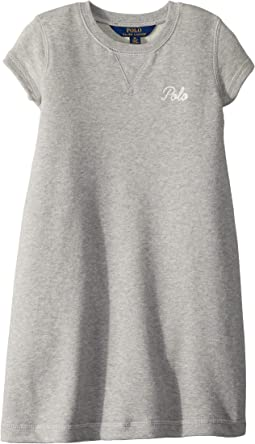 French Terry A-Line Dress (Little Kids)