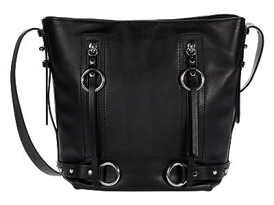 Rebecca Minkoff Jett Bucket Bag (Black) Handbags