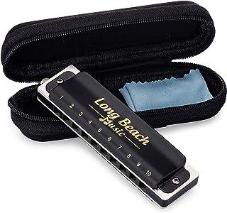 مفتاح سي من بلوز هارمونيكا ، 10 فتحات 20 درجة من لونج بيتش ميوز.