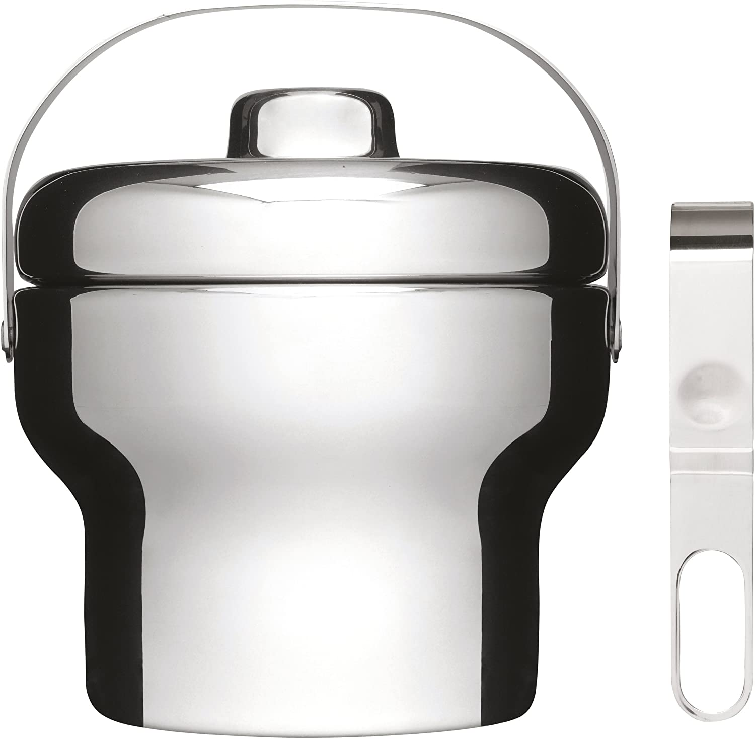 Sagaform Stainless Steel Ice Bucket Tong Set with Super beauty product Milwaukee Mall restock quality top