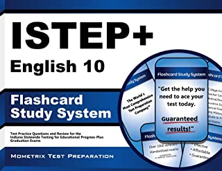 ISTEP+ English 10 Flashcard Study System: ISTEP+ Test Practice Questions & Exam Review for the Indiana Statewide Testing for Educational Progress-Plus Graduation Exams (Cards)