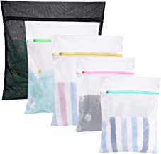 GOGOODA 5 Pcs Mesh Laundry Bags for Delicates with Zipper, Lingerie Bags for Laundry, Travel Storage Organize Bag, Clothin...