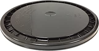 ENCORE PLASTICS 53000B Snap-On Paint Pail Lid, Polyethylene, 5 gal, Black