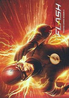 2017 The Flash Season 2 Trading Cards Scarlet Speedster Deco Foil #1 The Flash Trading Cards Season 2