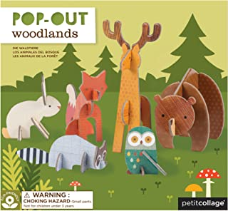 Petit Collage Pop Out Woodland