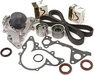 Evergreen TBK259WPT Fits 95-05 Chrysler Dodge Mitsubishi 2.5 3.0 SOHC 6G72 6G73 Timing Belt Kit Water Pump