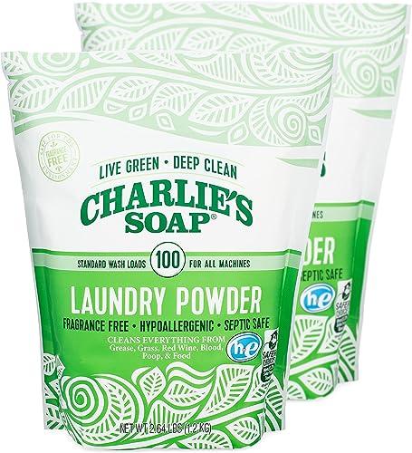 Charlie's Soap Laundry Powder Jar - 80 Loads - 41701 [Health and Beauty]