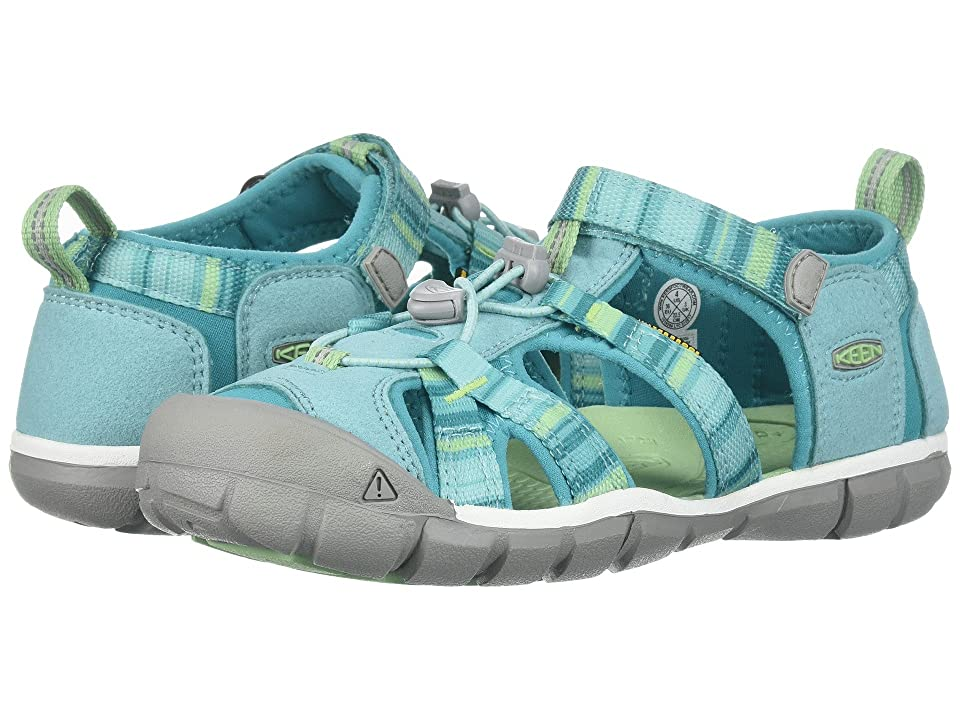 Keen Kids Seacamp II CNX (Toddler/Little Kid) (Pastel Turquoise Raya) Girls Shoes