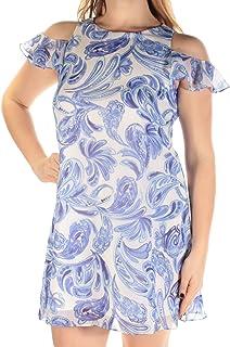 فستان أرجوحة الكتف الباردة من Jessica Howard للنساء