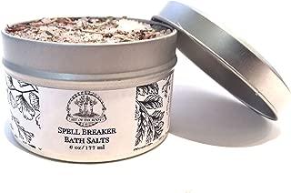 Spell Breaker Herbal Bath Salts 6 oz Remove Spells, Jinxes, Curses Hoodoo Voodoo Conjure Wicca Spell