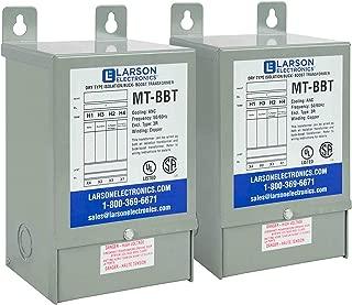 3 Phase Delta Buck/Boost Step-Up Transformer - 208V Primary - 229V Secondary at 41.7 Amps - 50/60Hz