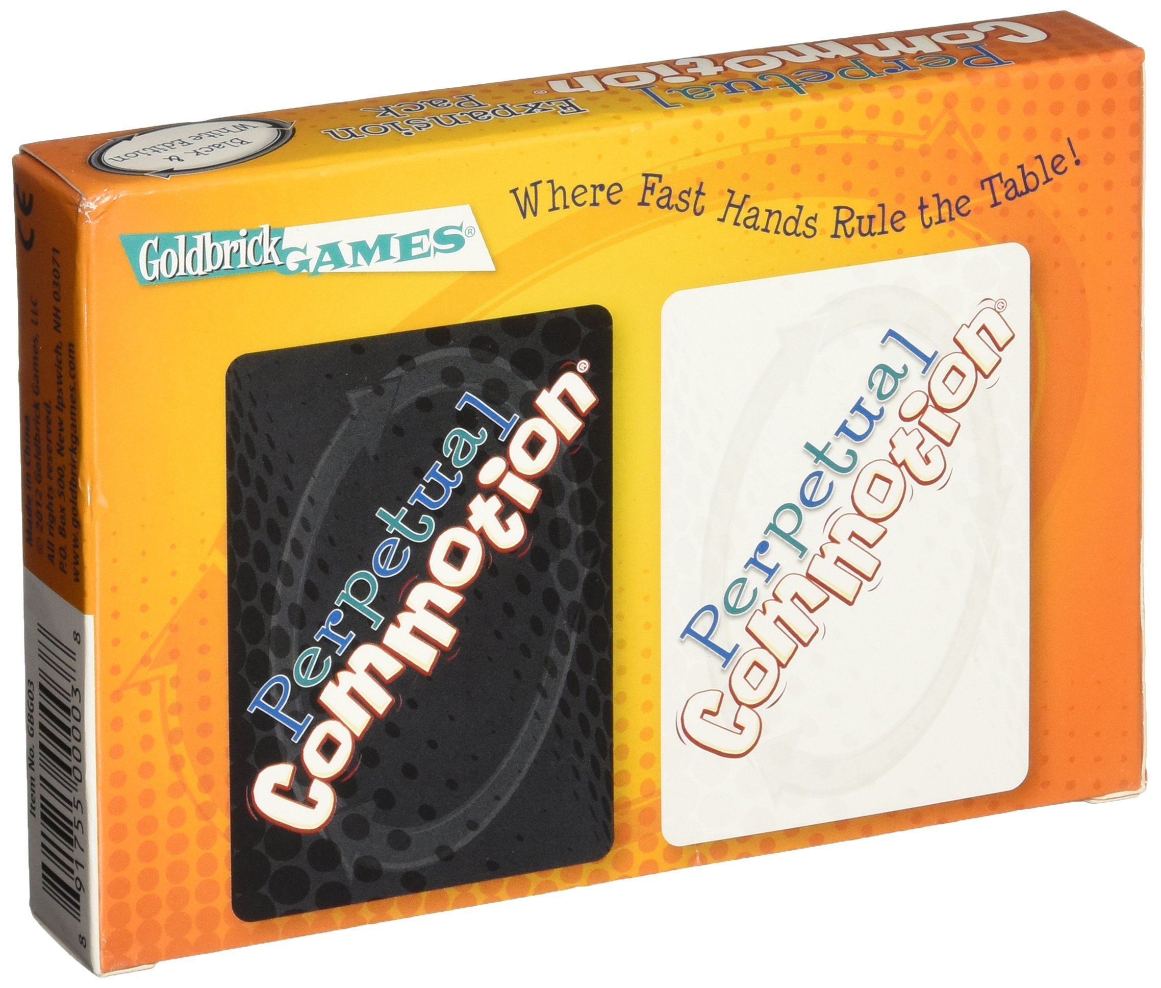 Perpetual Commotion Expansion Pack - Black & White