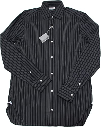 BARBA 4109I Camicia hommes clauds morene Manica Lunga Shirts Hommes