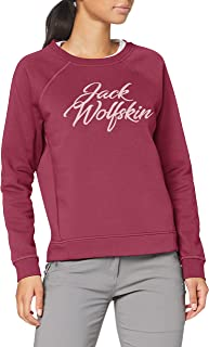Jack Wolfskin Women's Winter Logo Sweatshirt